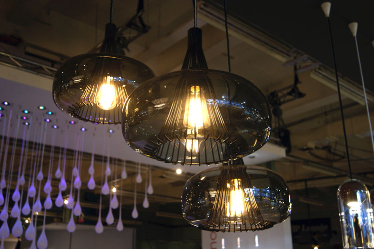 Vitamin pendant lamps incandescent bulbs LED 2013 trends London Design Festival