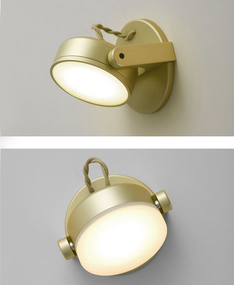 Monocle Wall Sconce (Dome and Flat Lens) - Rich Brilliant Willing