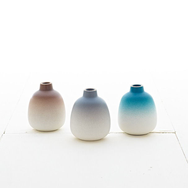Heath Bud Vase Set - Winter Seasonal