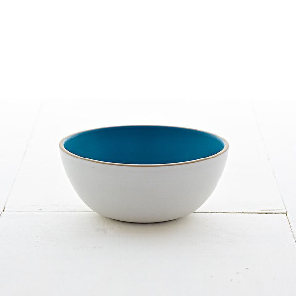 Vegetable Bowl - Blue Pine/Stone White