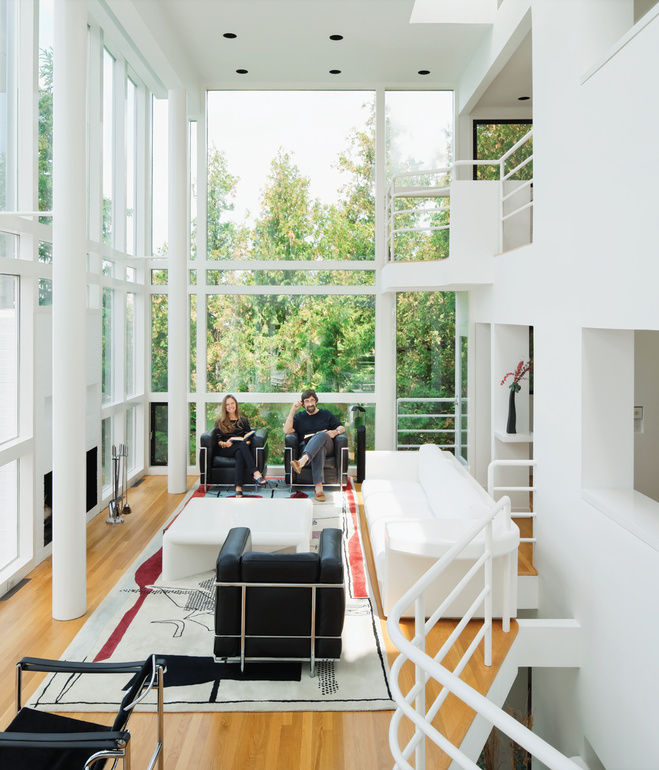 richard meier, douglas house, harbor springs, michigan