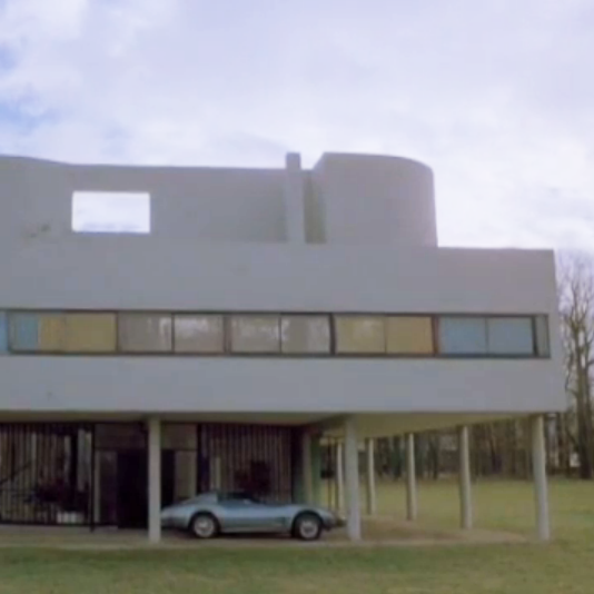 modern architecture still life footage