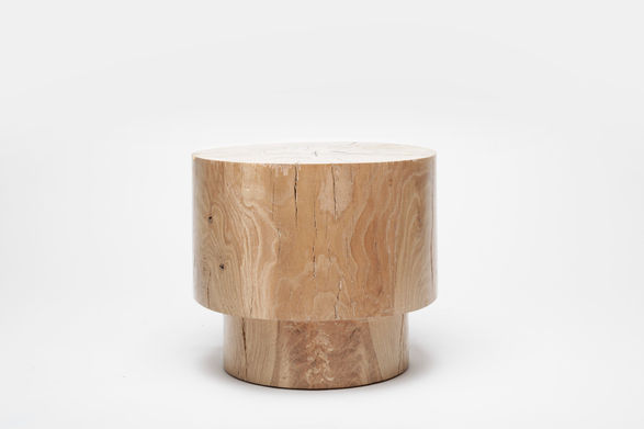 alma allen wood stool