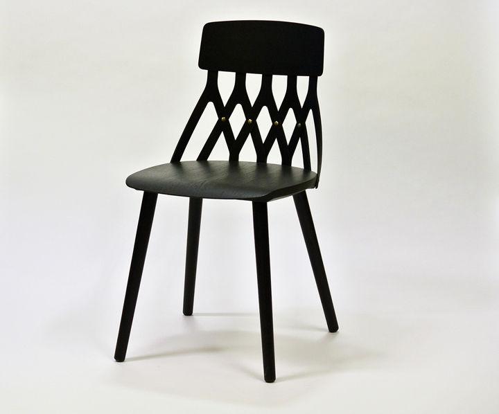 sami kallio milan collection black chair