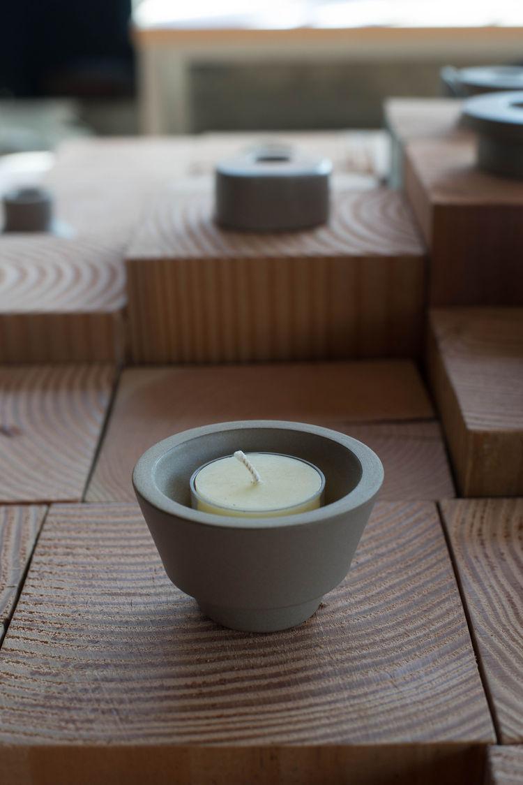 heath ceramics candle holder