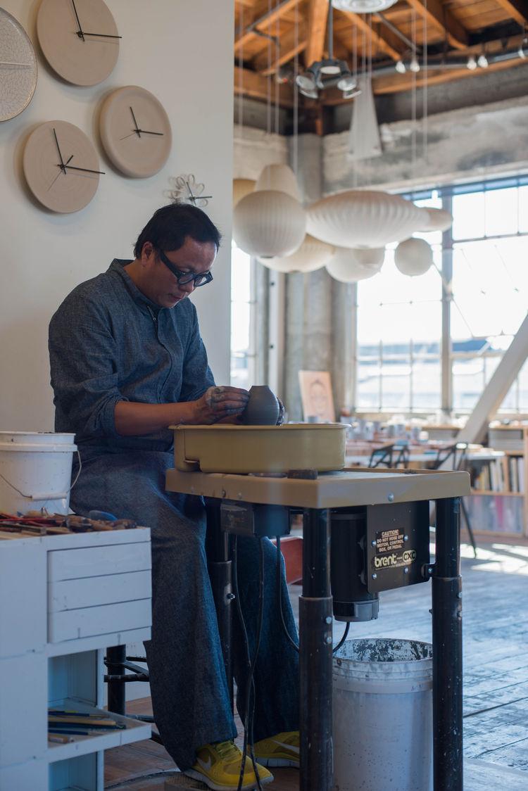 tung chiang ceramics showroom