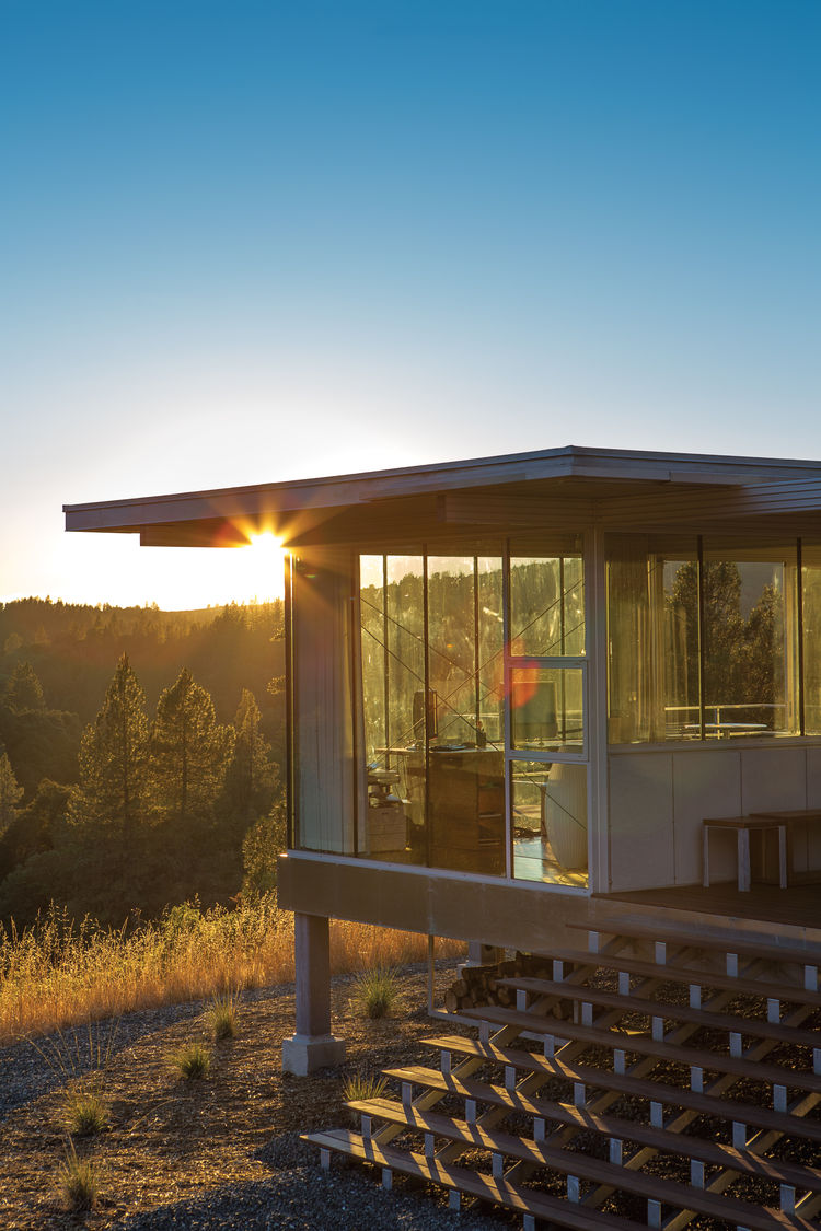 clearlake prefab home exterior