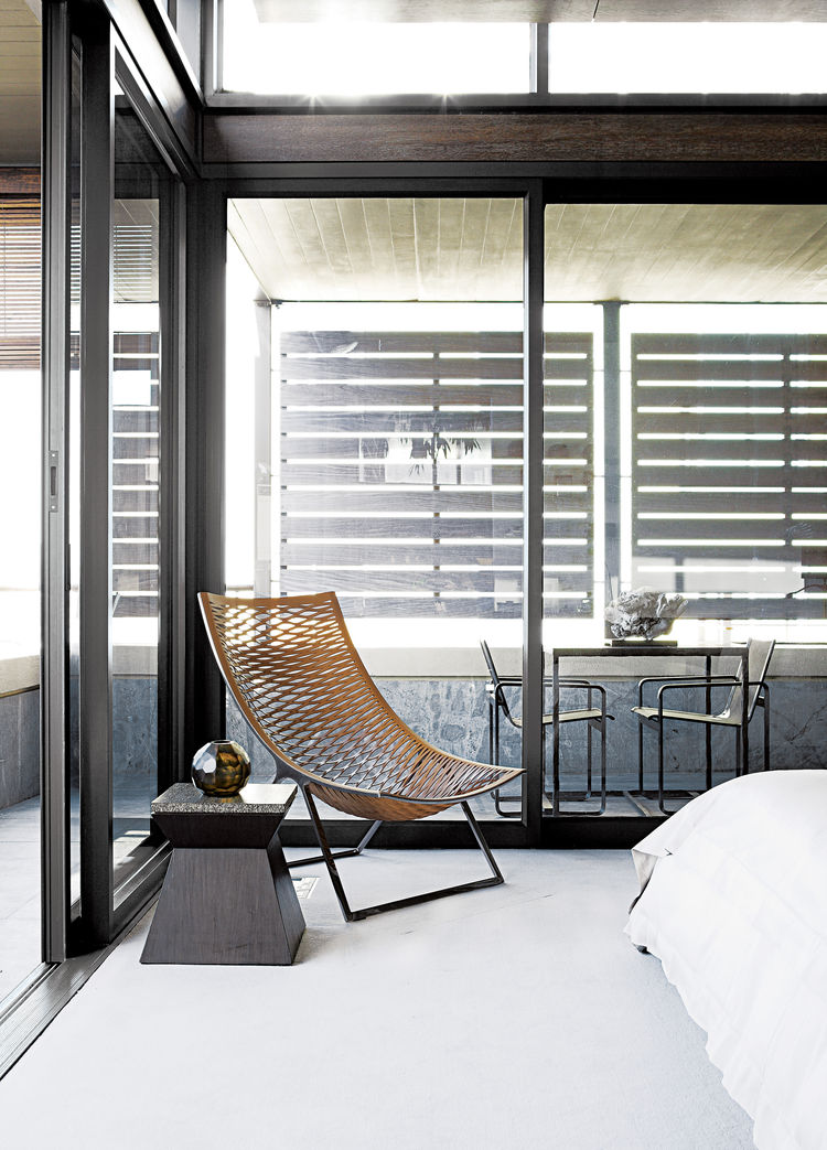 cape town penthouse interior bedroom