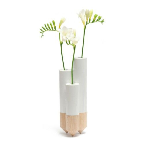 PIK Vases - White