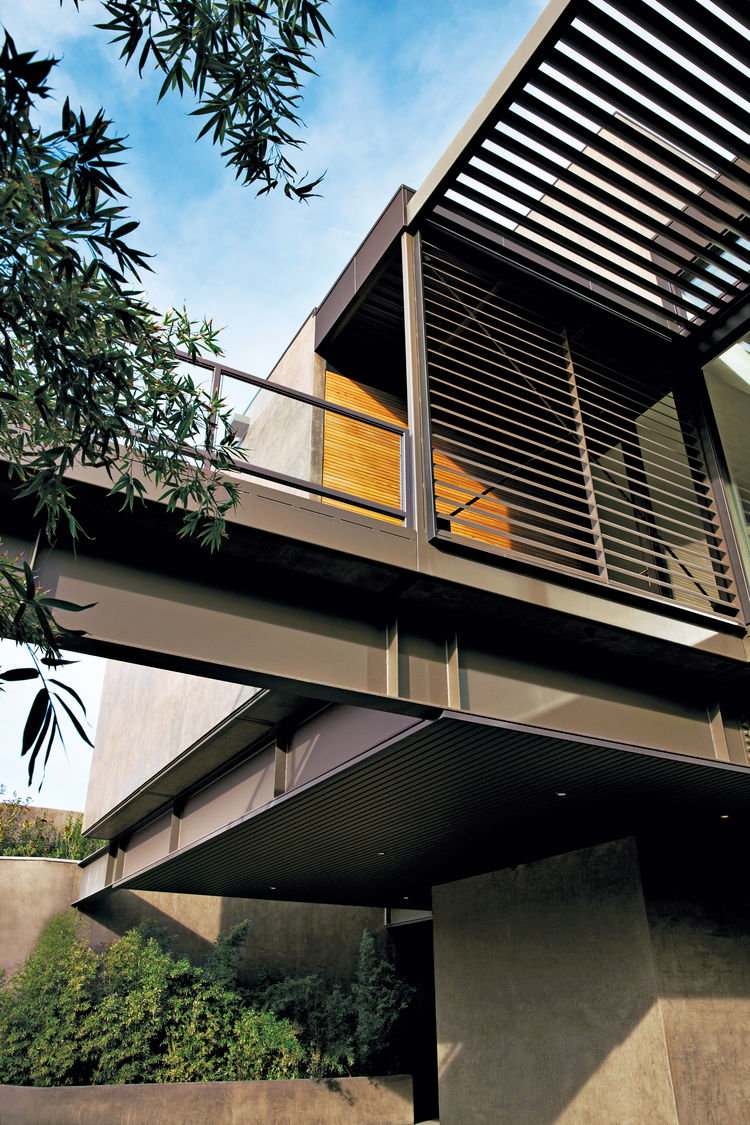 murren prefab residence steel-frame exterior