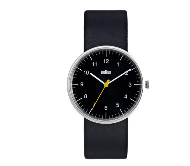 braun analog watch by dieter rams