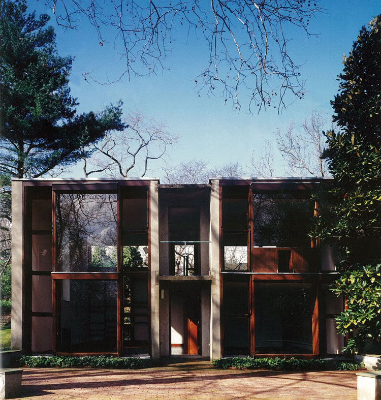 Louis Kahn American architecture landmark Philadelphia Esherick House