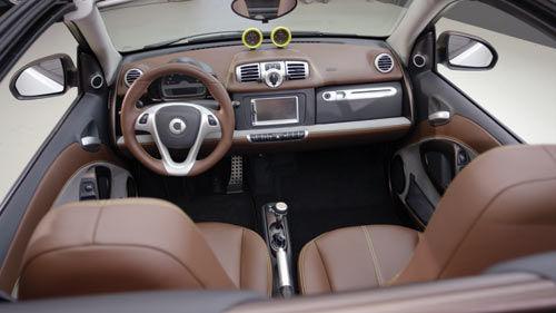 interior smart car materials