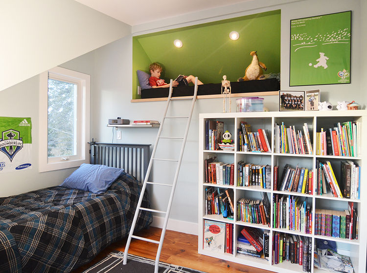 kids rooms bedrooms Merzbau Design Collective Austin renovation remodel