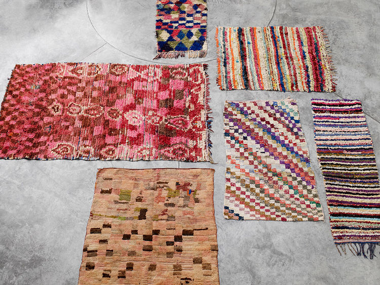 hay textile rugs