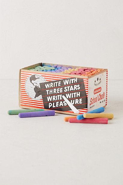 three stars chalk set
