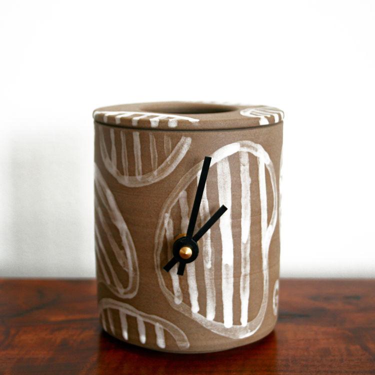Heath ceramic clock
