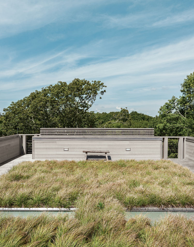 Fishers Island prefab green roofs