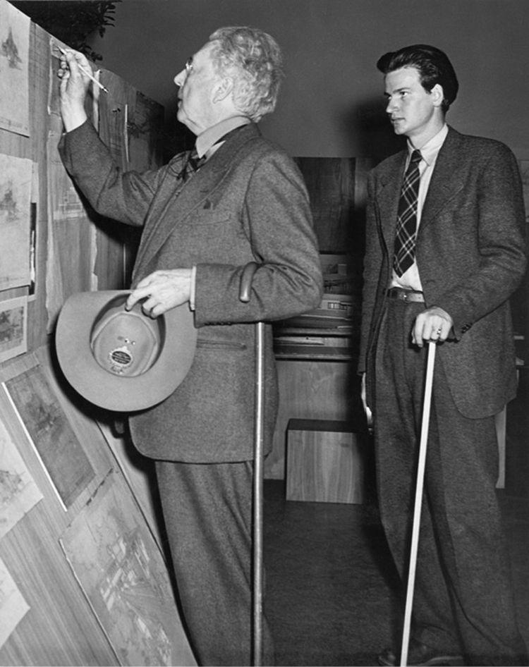 frank lloyd wright exhibition