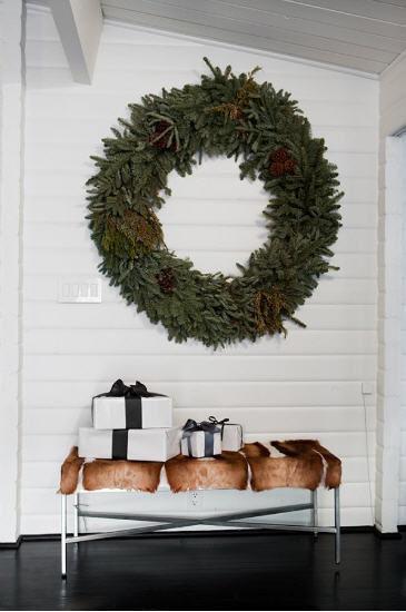 Large Natural Wreath