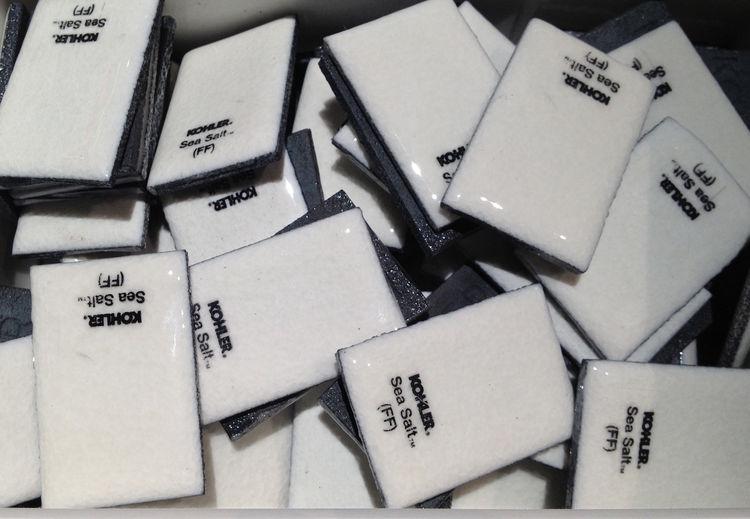 Kohler tile white