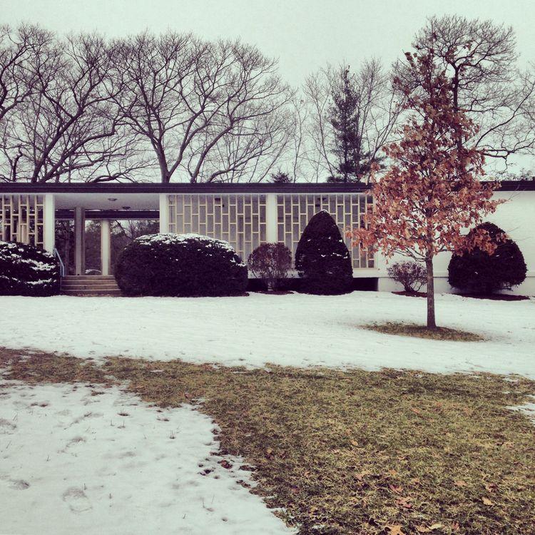 Brandeis University midcentury architecture travel tour Harrison & Abramovitz