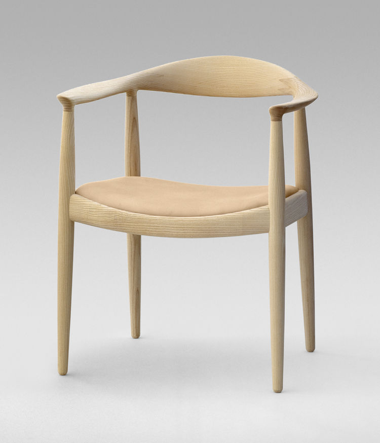 Hans Wegner Round Chair kennedy nixon debate Danish design chair