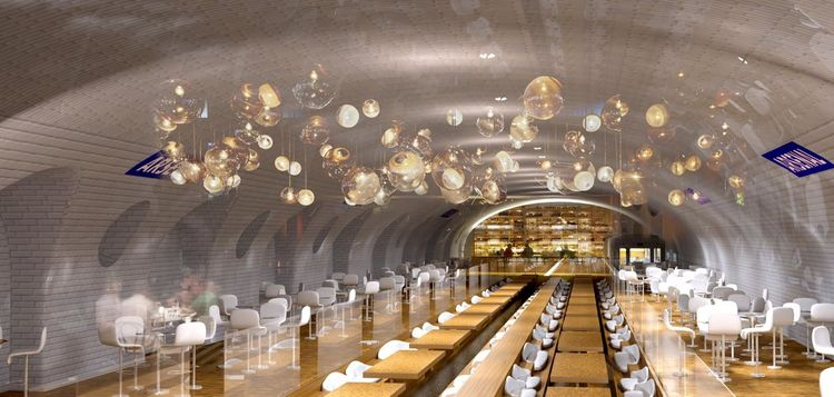 the new underground subway stations reimagined