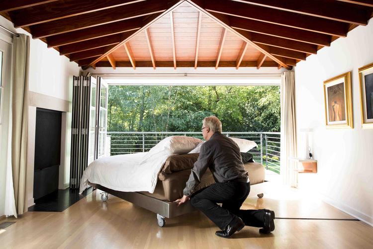 custom-built bed in Cincinnati