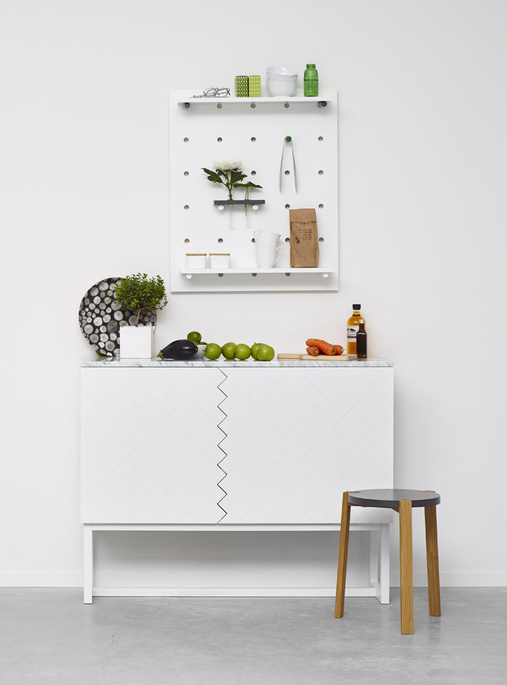 W.30 wall storage Sara Larsson A2 Stockholm Furniture Fair pegboard