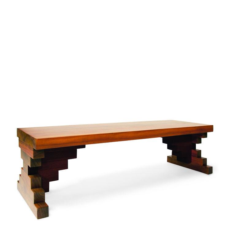 bench, walnut