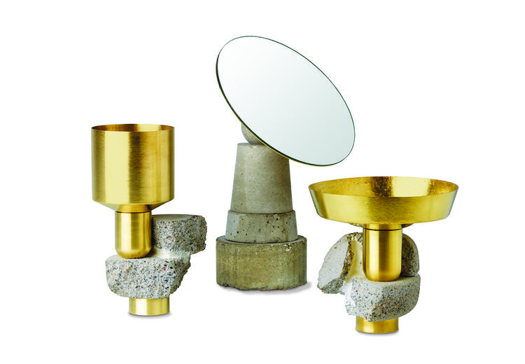 mirror, vase, dish, David Taylor