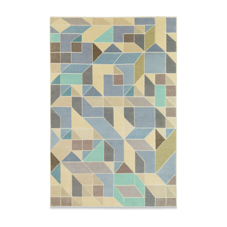 rug, geometric, looping