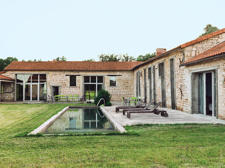 farmhouse, stone, Matali Crasset