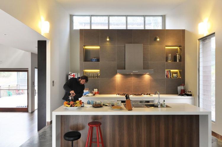 kitchen of modern house in australia