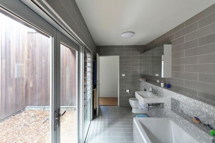 modern bathroom in australian house