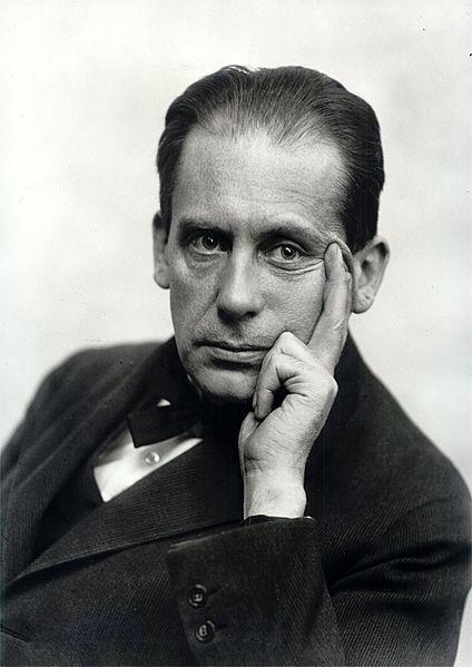 portrait of young Walter Gropius