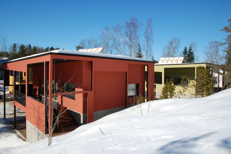 Oravarinne Passive Houses, Espoo, Finland