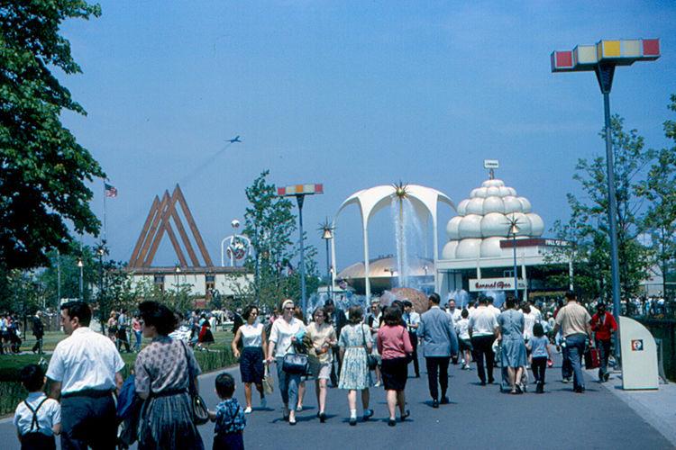 New York Pavilion 1964 World's Fair