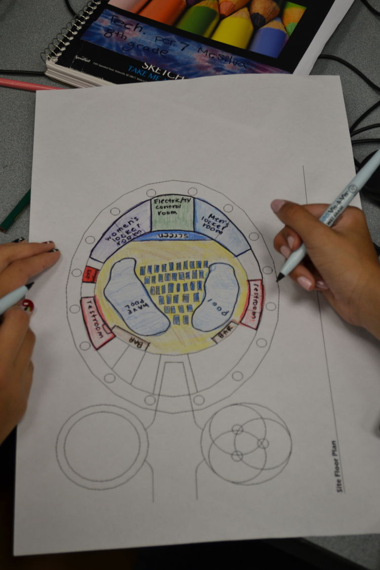 Student's World's Fair Drawing