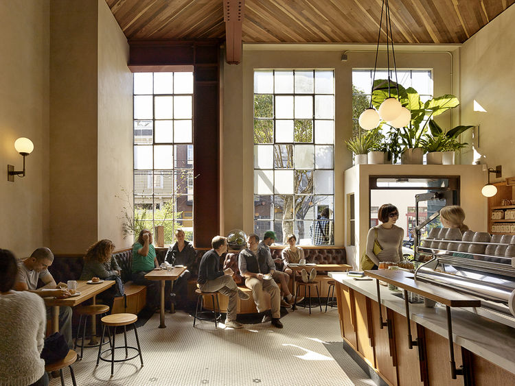 Sightglass Coffee 20th Street by Boor Bridges Architecture