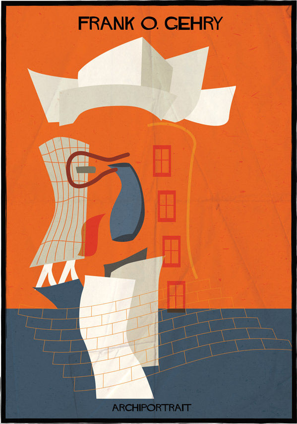federico babine gehry portrait