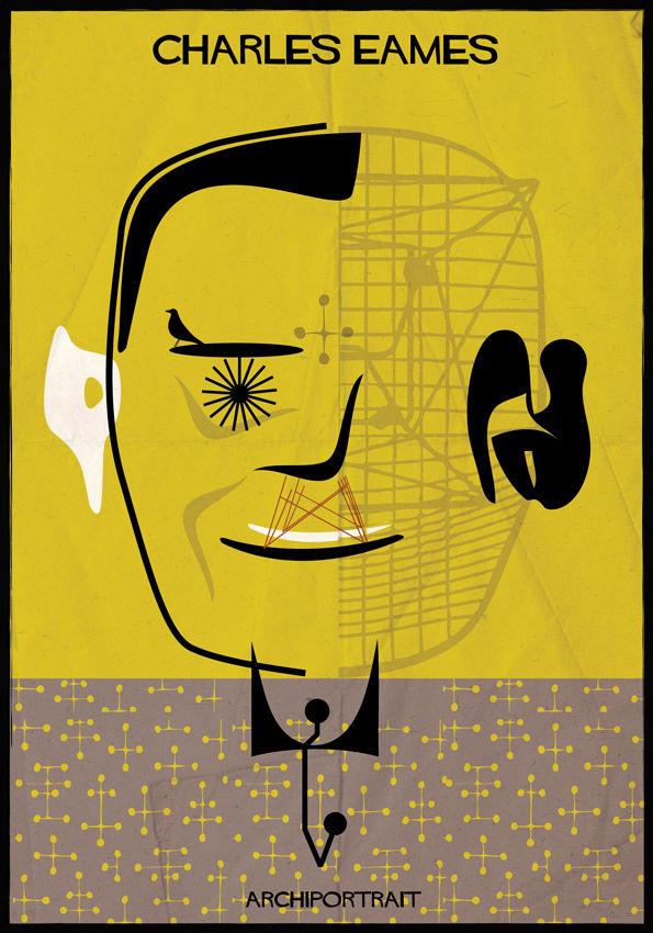 federico babina eames portrait