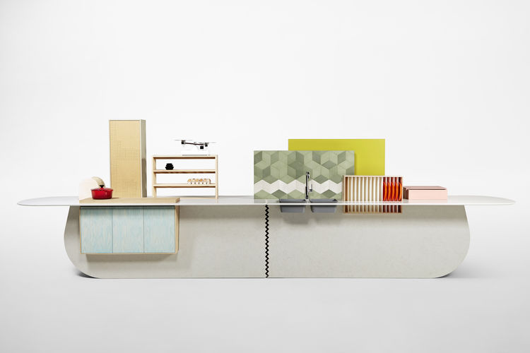caesarstone Milan Raw Edges Islands functional kitchen appliances