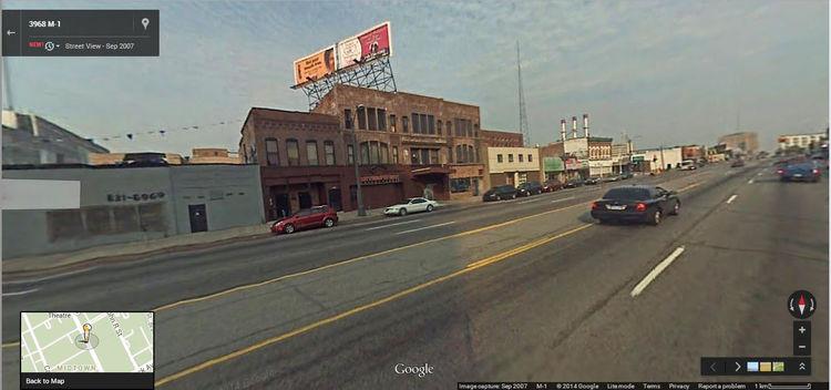 Google Street View Detroit 2007