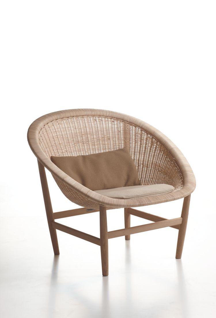 kettal basket chair