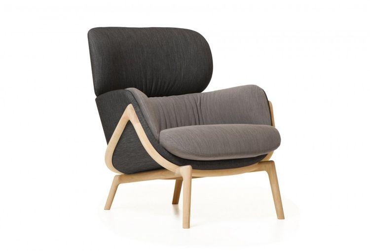 Luca Nichetto De La Espada ICFF 2014 Elysia upholstered armchair