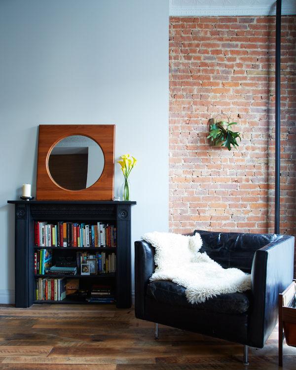 williamsburg renovation living room