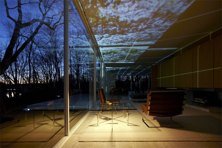 INsite: Farnsworth House Light Show