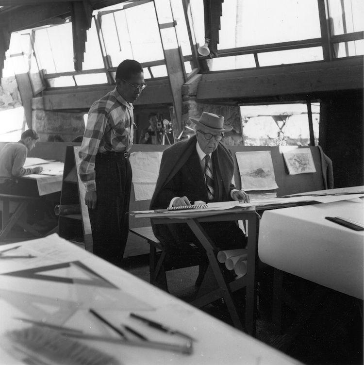 Frank Lloyd Wright at Taliesan West